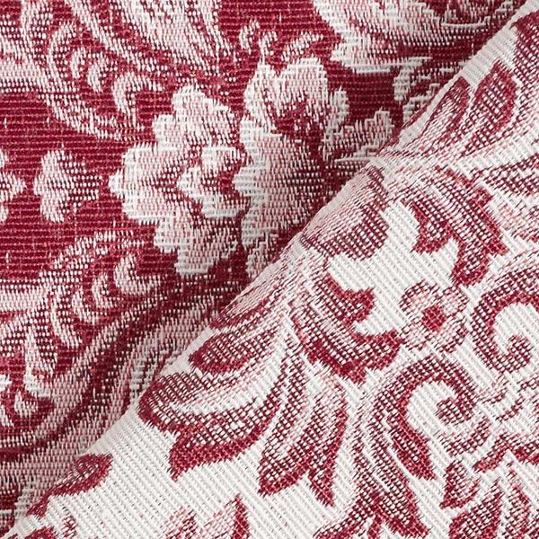 Tissu de décoration Jacquard Ornements – rouge