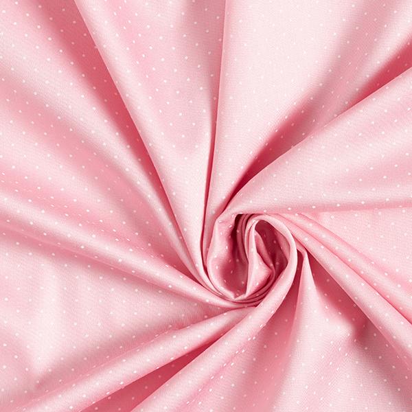 Satin de coton Petits points – rose