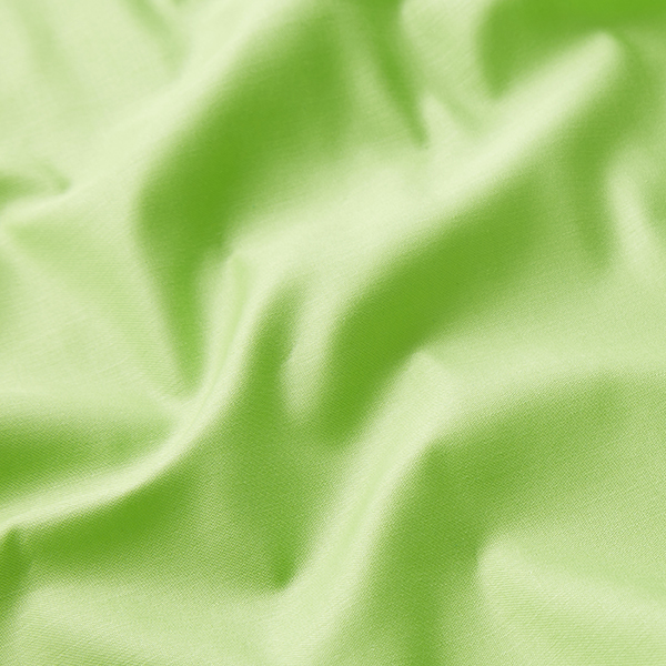 Satin de coton Uni – vert clair