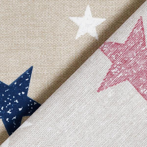 Tissu de décoration Canvas Étoiles – rouge