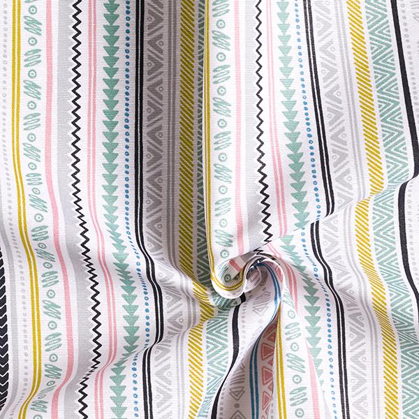 Tissu de décoration revêtu Ethno
