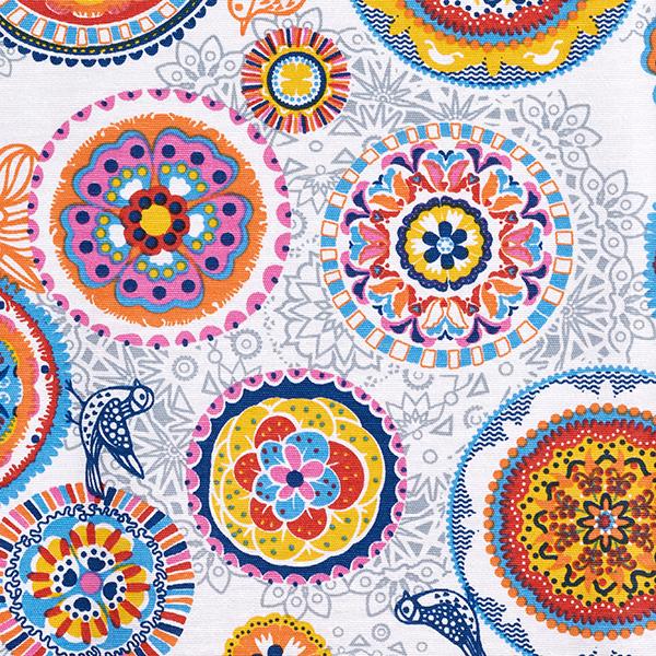 Tissu de décoration revêtu Mandala
