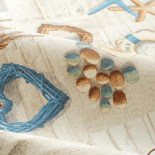 Tissu de décoration Canvas enduit Maritime – nature