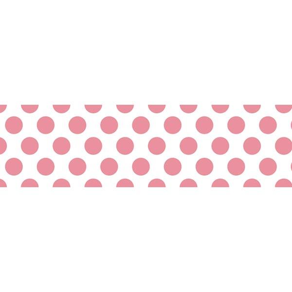 Washi Tape Punkte – weiss/rot | Masking Tape