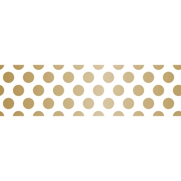 Masking Tape Points – blanc/or