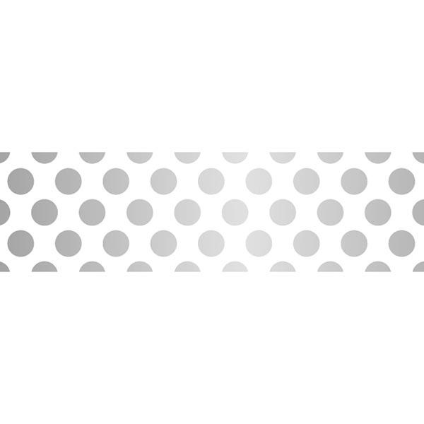Masking Tape Points 1 – blanc/argent