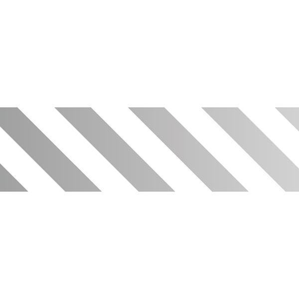 Masking Tape Rayures 1 – argent/blanc