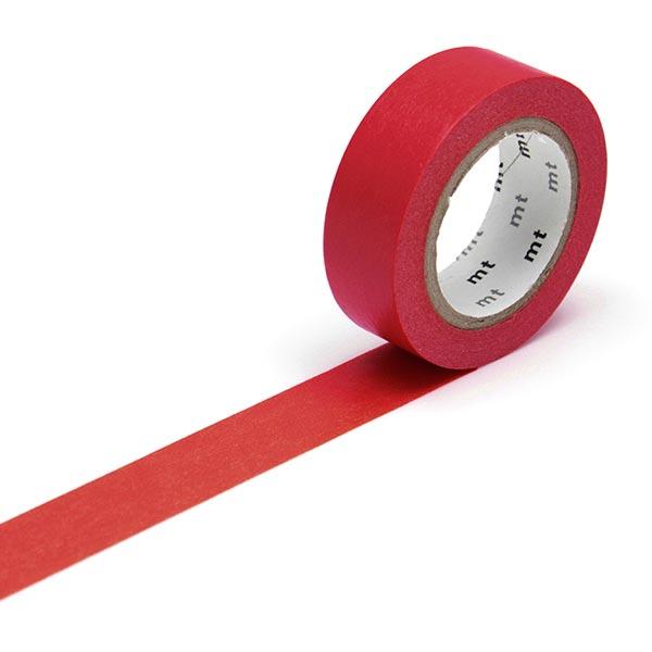 Masking Tape Uni – rouge