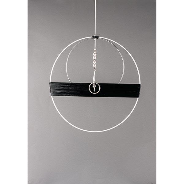 Anneau métallique [ 15 cm ] | Rayher – argent
