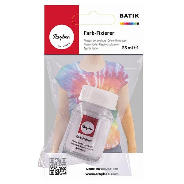 Fixateur de couleur pour teinture manuelle Batik   Rayher