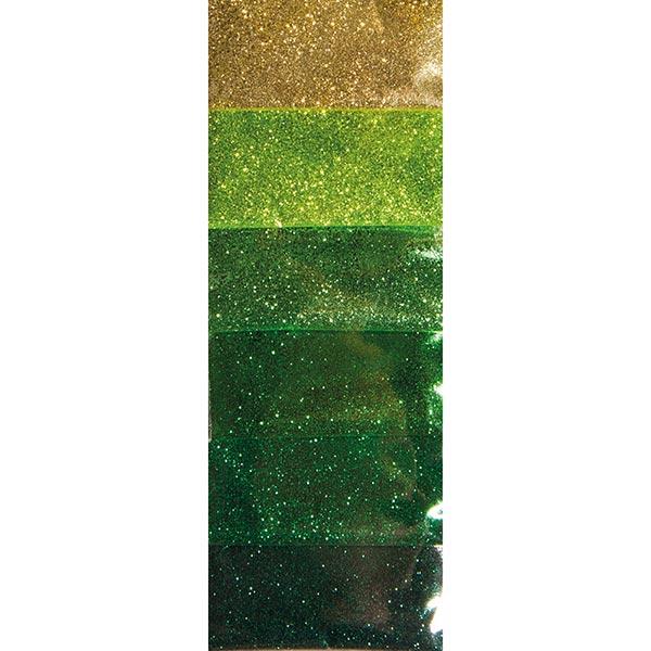 Paillettes Set  [ 6 x 2g ] – vert