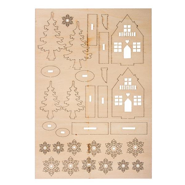 Kit de construction en bois Maison d'hiver