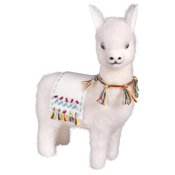 Lama «Tami» à feutrer [19 x 8 x 24 cm]