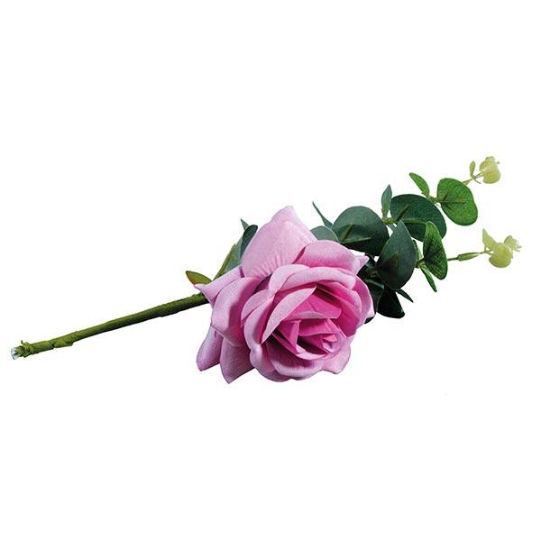 Roses Fleur artificielle à l'eucalyptus | Rayher – lilas