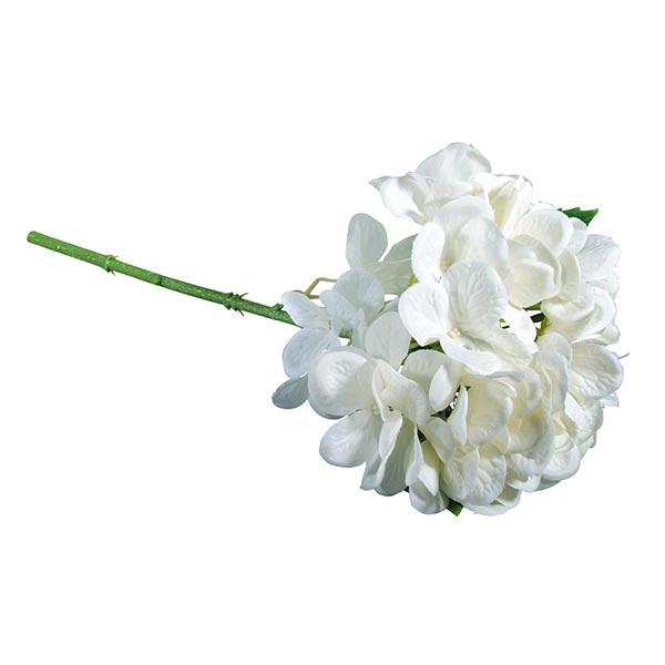 Hortensia Fleur artificielle | Rayher – blanc