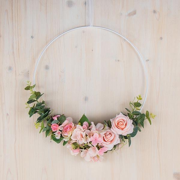 Hortensia Fleur artificielle   Rayher – rose