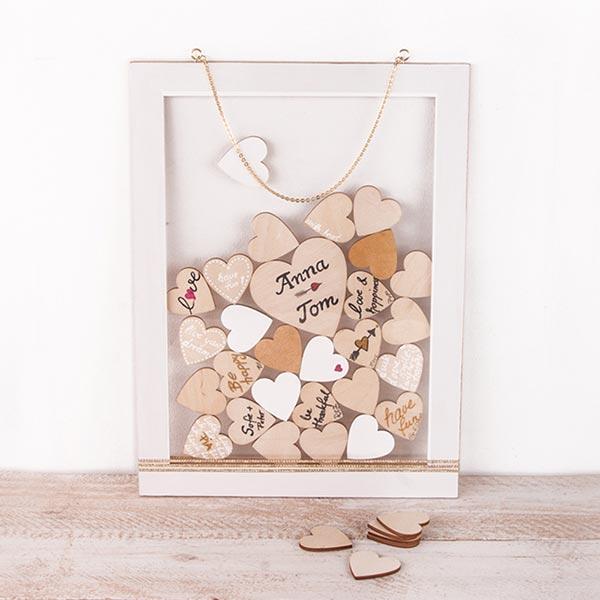 Cœurs en bois Set [ 31 pièces ] | Rayher – nature