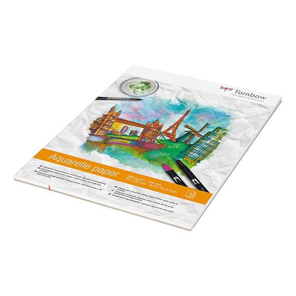Bloc d'aquarelle [24 x 32 cm | 300 g/m²] | Tombow