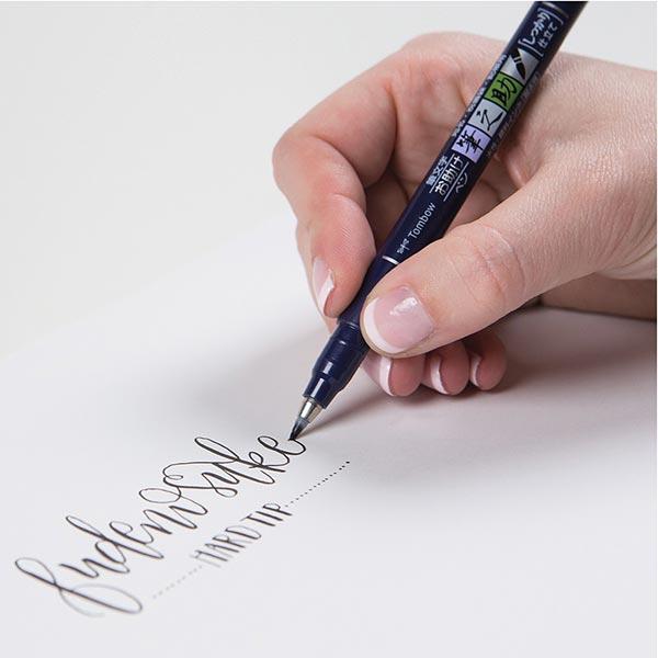 Brush Pen aquarelle Fudenosuke 31 | Tombow – marron