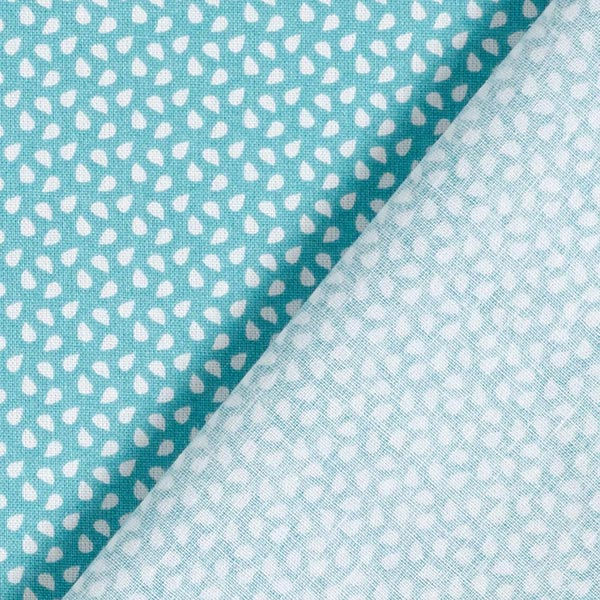 Tissu en coton Cretonne Taches – vert menthe
