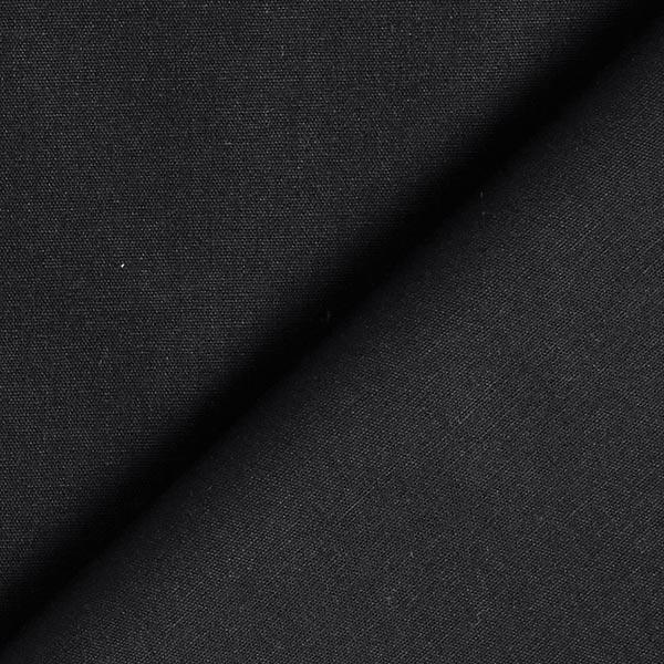 Tula Baumwollpopeline GOTS – schwarz