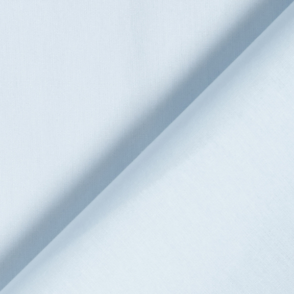 Tula Popeline coton GOTS – bleu bébé