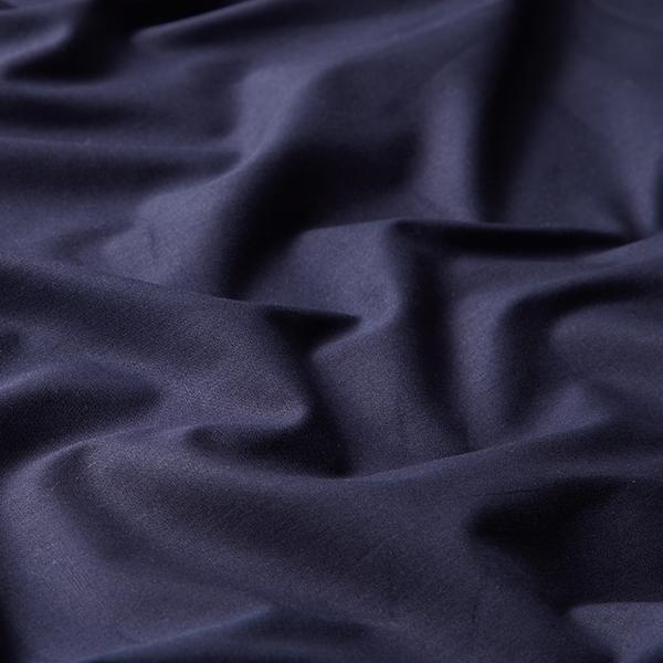 Tula Popeline coton GOTS – bleu marine