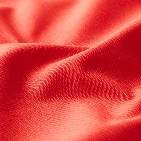 Tula Popeline coton GOTS – rouge clair