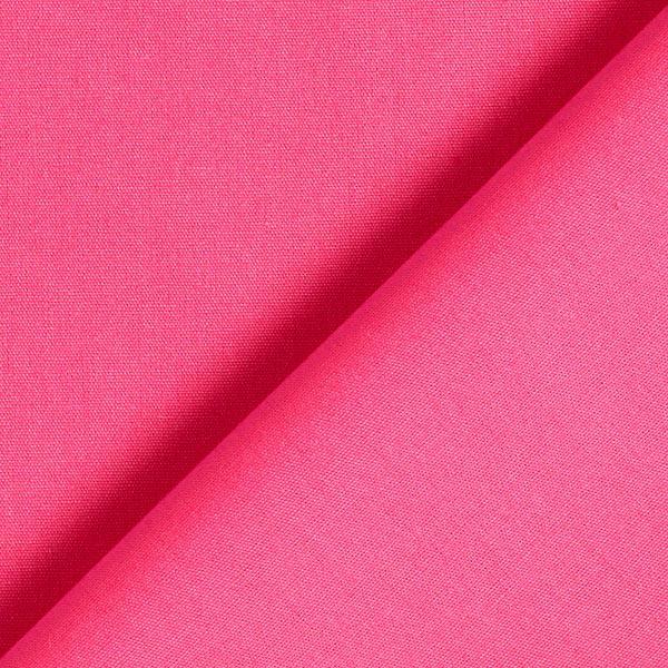 Tula Popeline coton GOTS – rose vif