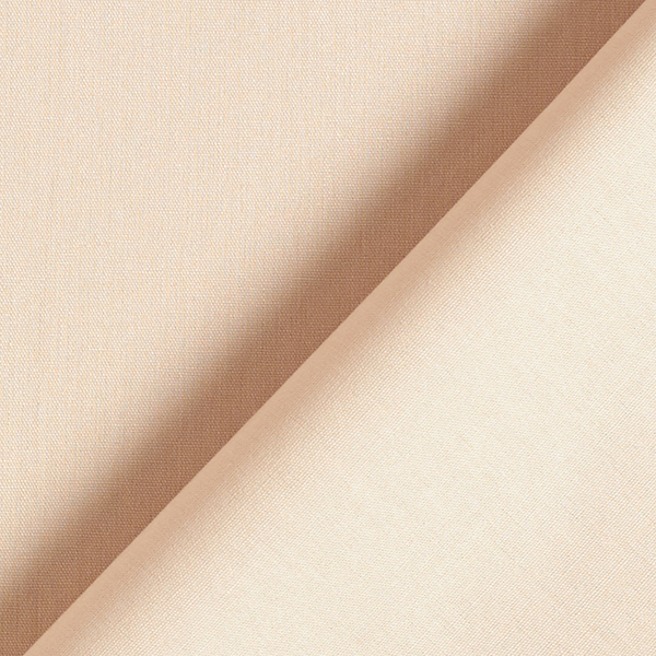 Tula Popeline coton GOTS – beige
