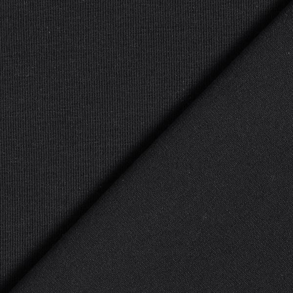 Tula Popeline jersey GOTS – noir
