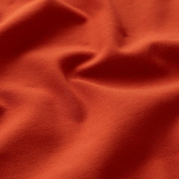 Tula Jersey coton GOTS – terre cuite