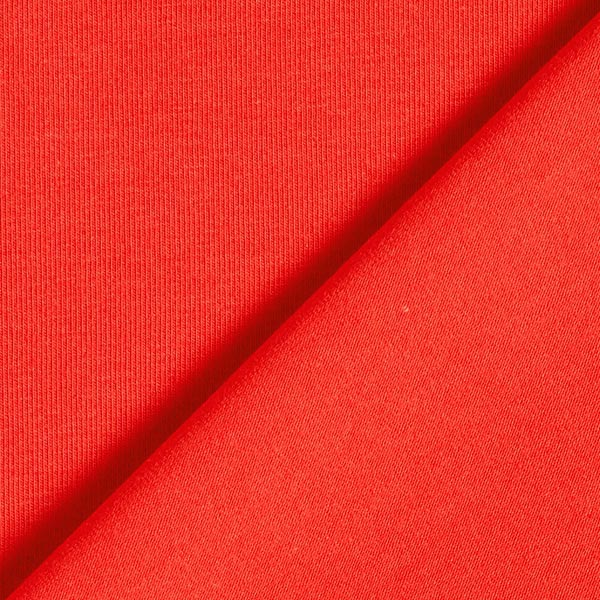 Tula Popeline jersey GOTS – rouge clair