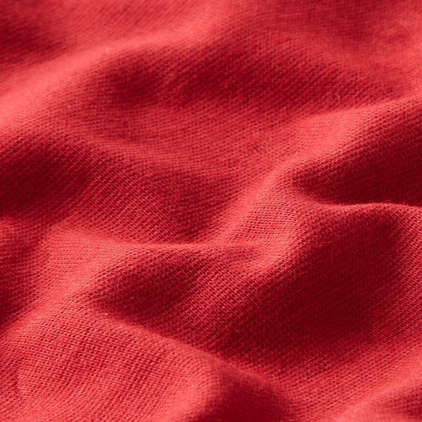 Tula Bord-côtes coton GOTS – framboise