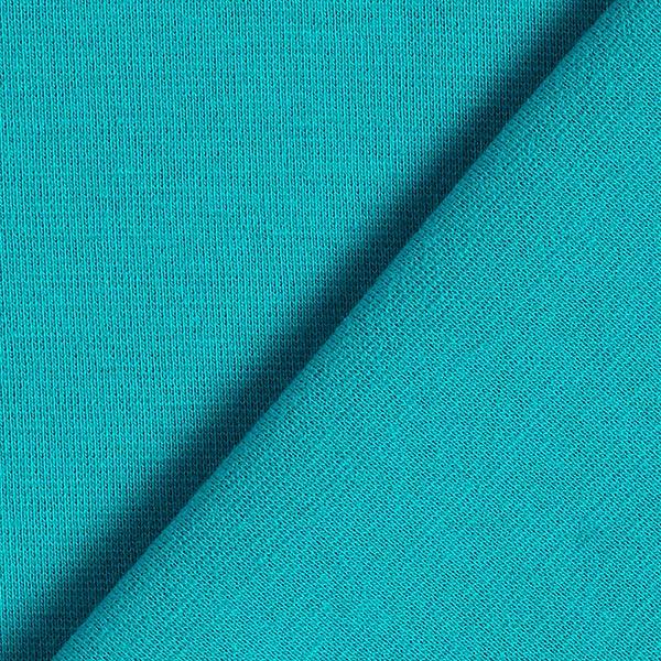 Tula Bord-côtes coton GOTS – bleu turquoise
