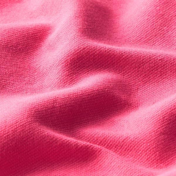 Tula Bord-côtes coton GOTS – rose vif