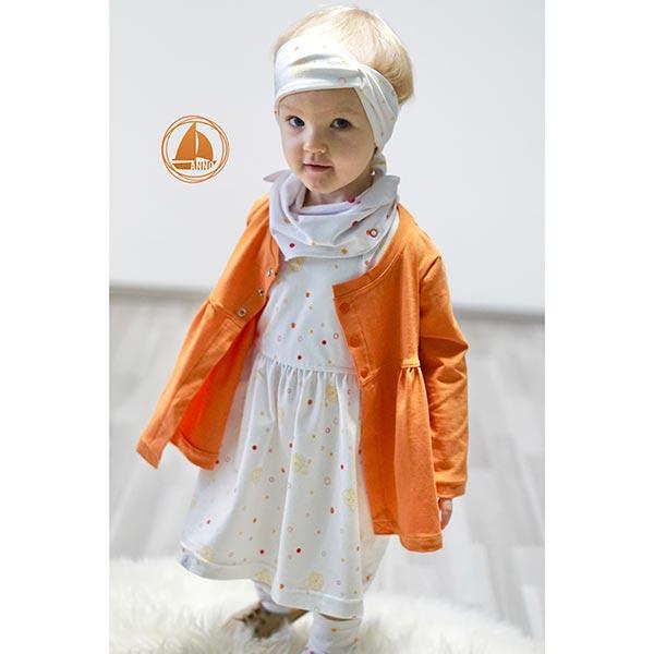 Tula Kids Jersey coton Lion GOTS – blanc