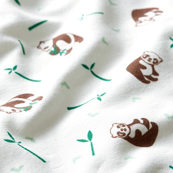 Tula Kids Coton Sweatshirt Panda GOTS – blanc