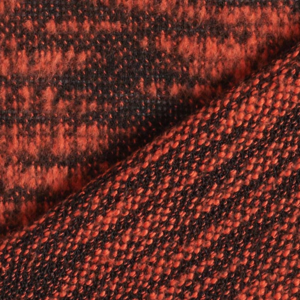 Maille polyester souple – terre cuite