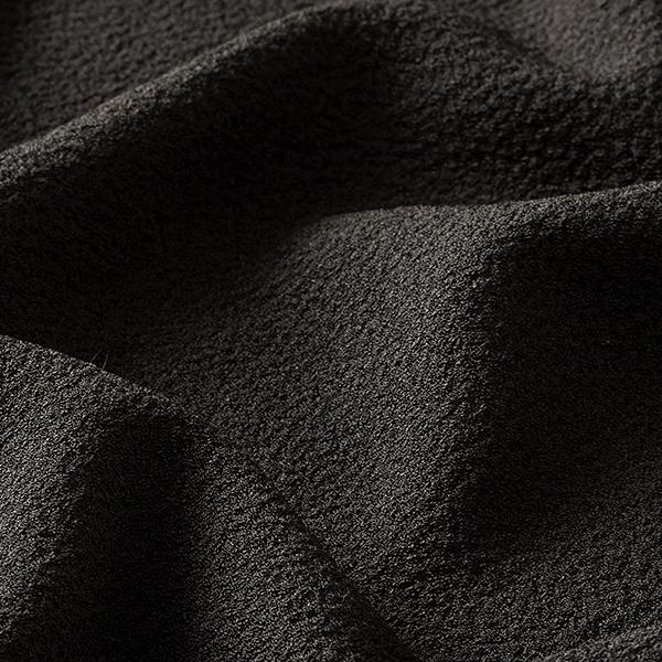 Tissu pour chemisier Stretch smoké – noir
