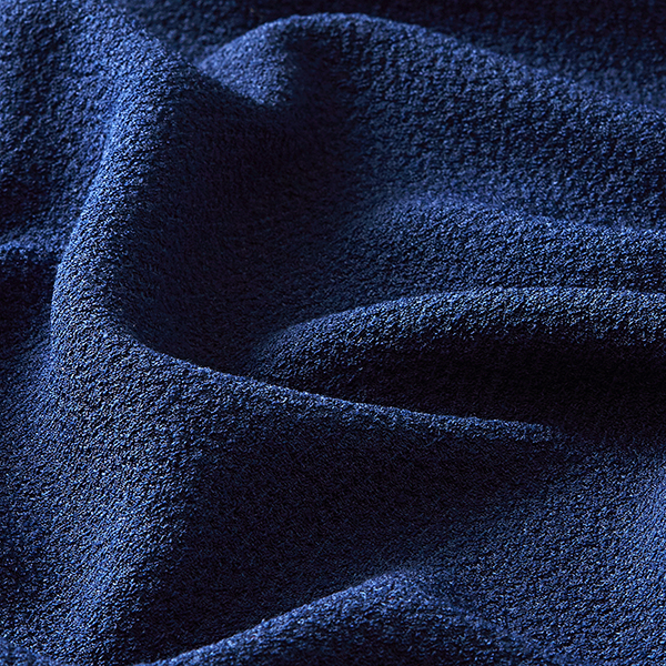 Tissu pour chemisier Stretch smoké – bleu marine