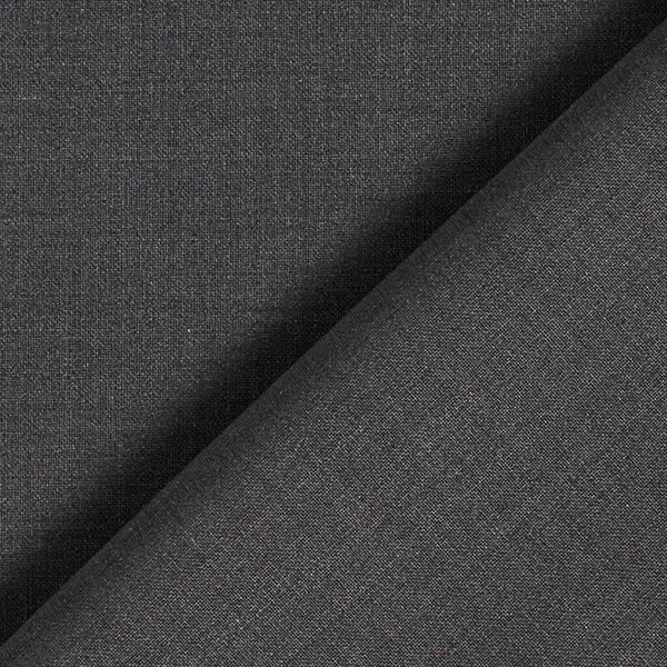 Tissu pour costume Stretch Mélange laine vierge Uni – anthracite