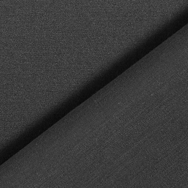 Satin stretch Mélange coton noble – anthracite