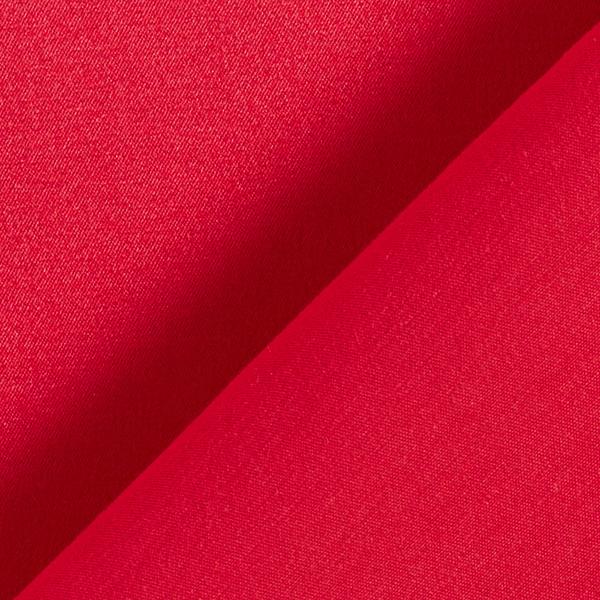 Satin stretch Mélange coton noble – carmin