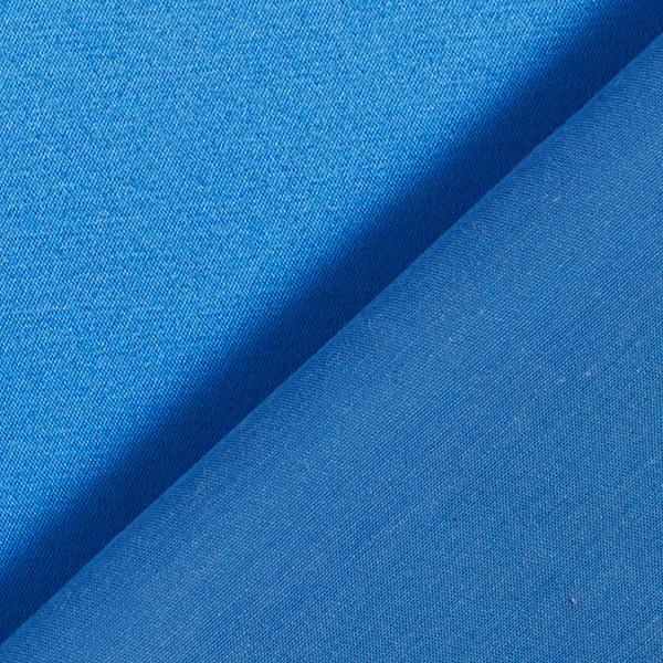 Satin stretch Mélange coton noble – bleu roi