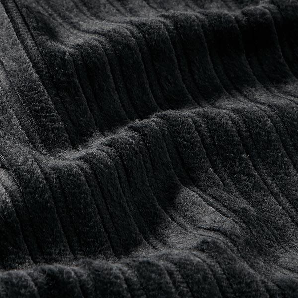 Velours côtelé large Klabauter – noir