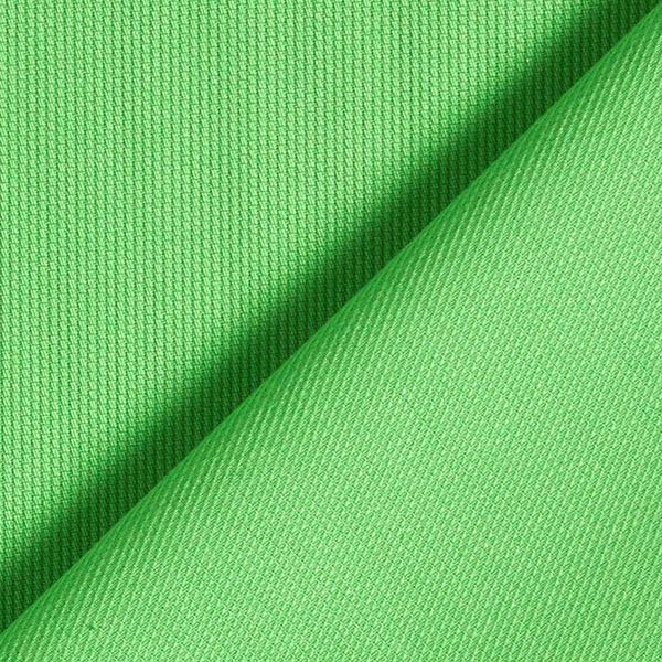 Tissu de coton mélangé uni – vert fluo