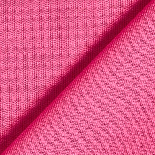 Tissu de coton mélangé uni – rose néon