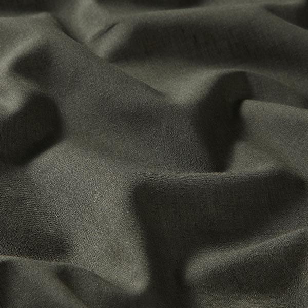 Batiste de coton fin Uni – kaki