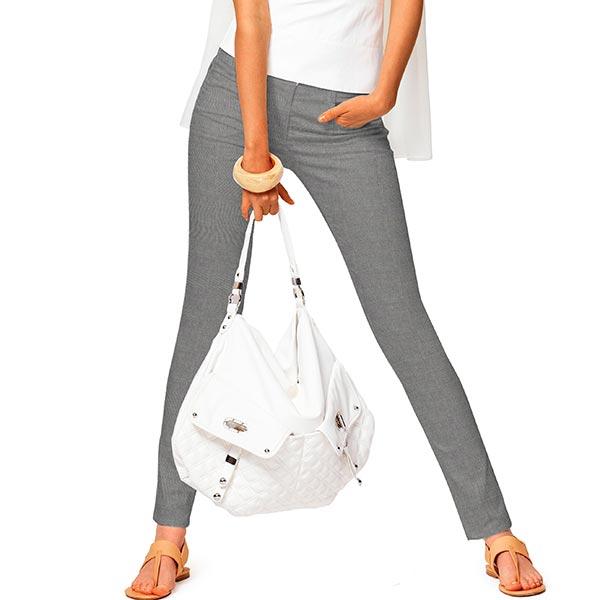 Stretch pour pantalon Poivre et sel – gris